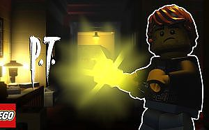 LEGO P.T. - Silent Hills Recreated in LEGO Worlds