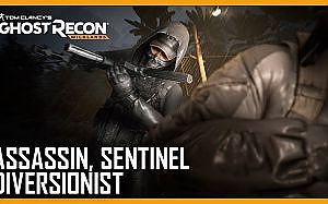 Tom Clancy's Ghost Recon Wildlands: Ghost War Classes: Assassin, Sentinel, Diversionist | Ubisoft - YouTube